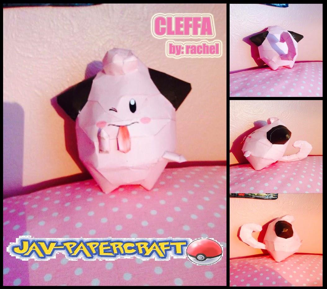 Cleffa Paper Model