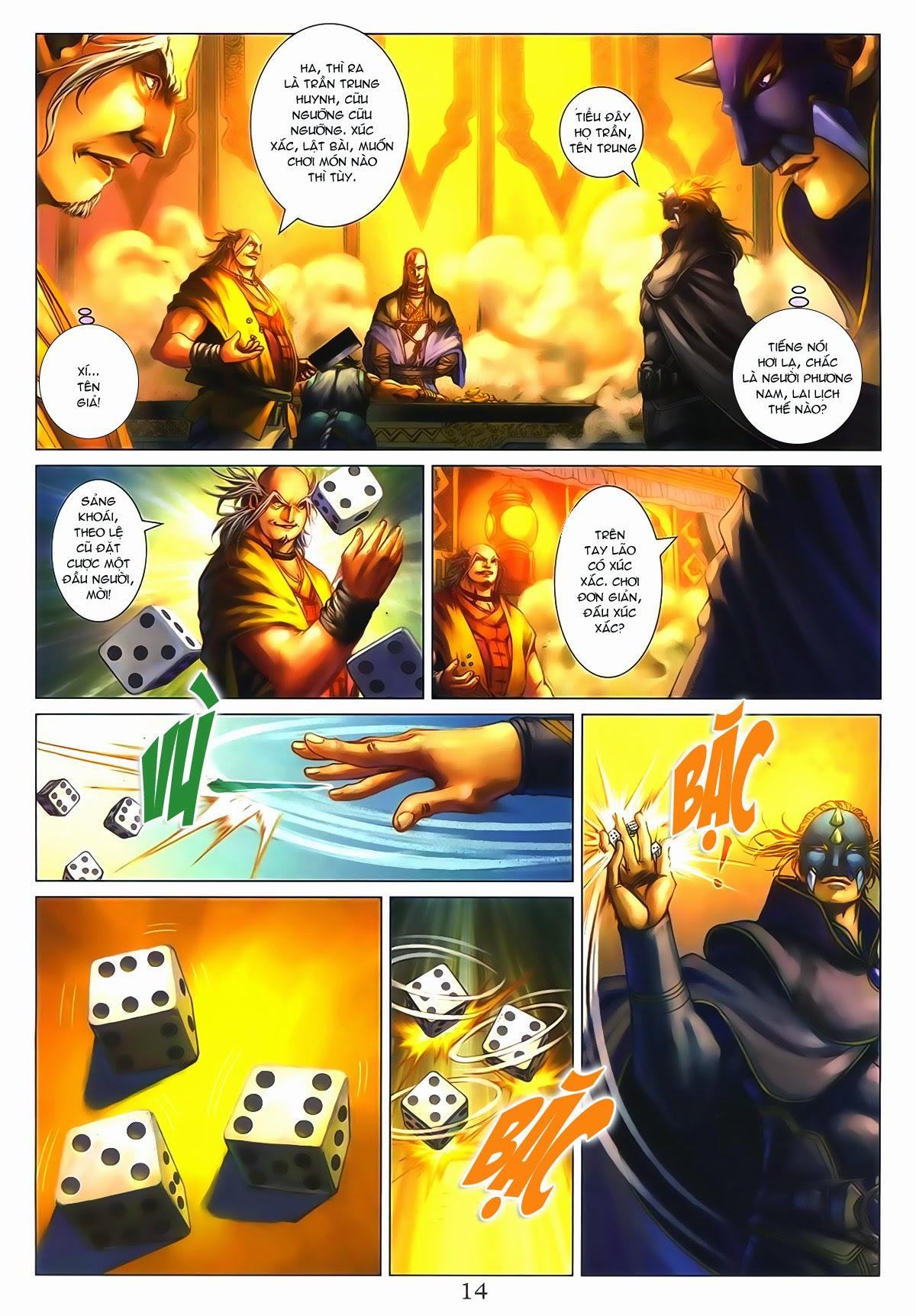Tứ Đại Danh Bổ Chap 286 - Trang 14