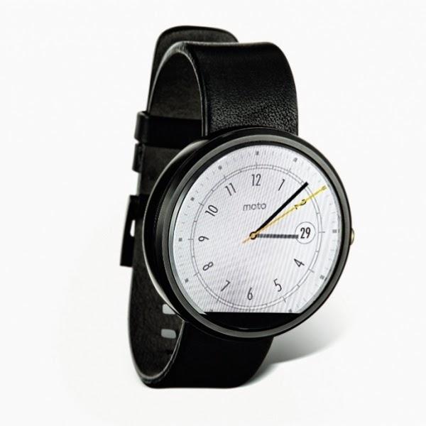 Motorola Moto 360 é o primeiro smartwatch a se parecer com um relógio de verdade