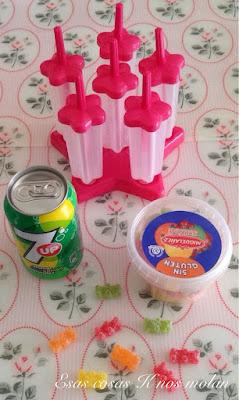 ingredientes helado gominolas