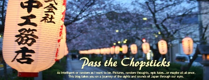 Pass the Chopsticks - Living in Japan