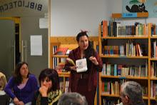 """Isabel Rosete na sessão literária """"Vozes ao Alto"""", Biblioteca, Mira"""