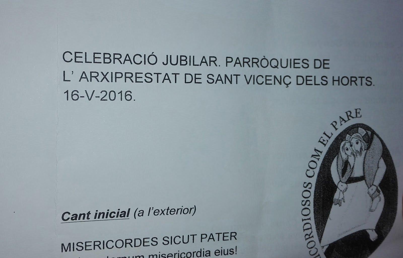 Peregrinació arxiprestat St. Vicenç dels Horts al Santuari de Misericòrdia de Reus (16-5-2016)
