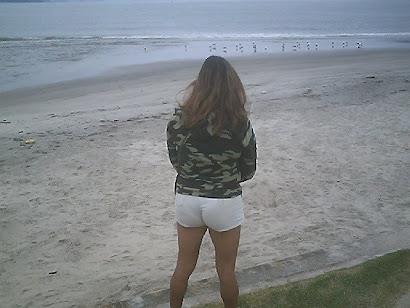 Caminhada na praia do Itaguá