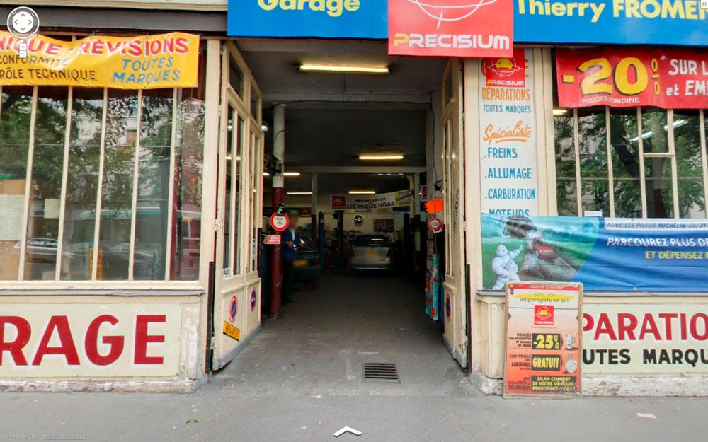 Dreamlands garage fromentin paris for Garage mercedes paris 11