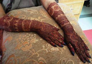 Mehndi Designs 2013 for girls