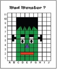 Homeschool Parent: Halloween Coordinate Graphing Activities