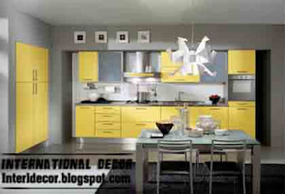 yellow kitchen designs Yellow Kitchen Designs 2013   Yellow Kitchen photos 2013