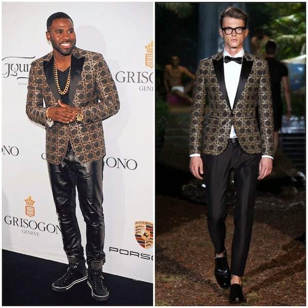 Jason Derulo in DSquared - De Grisogono Party, The 67th Annual Cannes Film Festival #Cannes2014