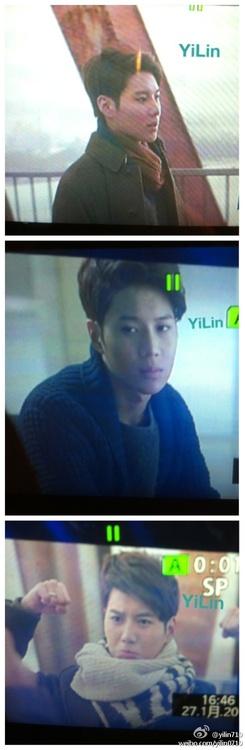 Screencaps of Taemin in Boa's Disturbance mv 1