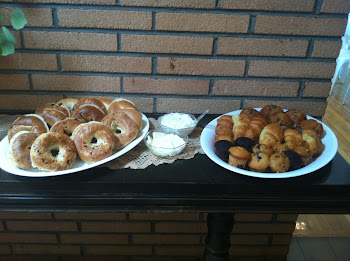 Assorted Bagels, Muffins, Cream Cheese