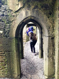 Creeping around the historic Ross-Errilly Friary