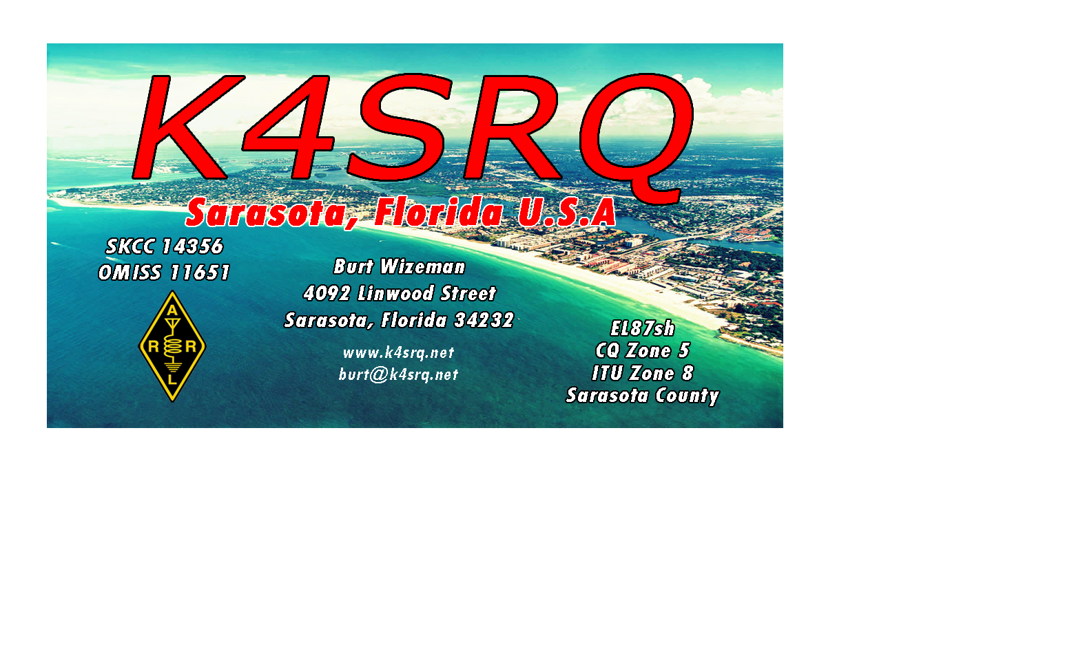 Virtual QTH of K4SRQ
