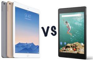tablet ipad air 2 e nexus 9
