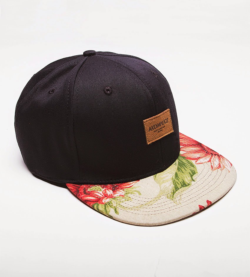 Thirdround Clothing - Akomplice Red Sunflower Strapback