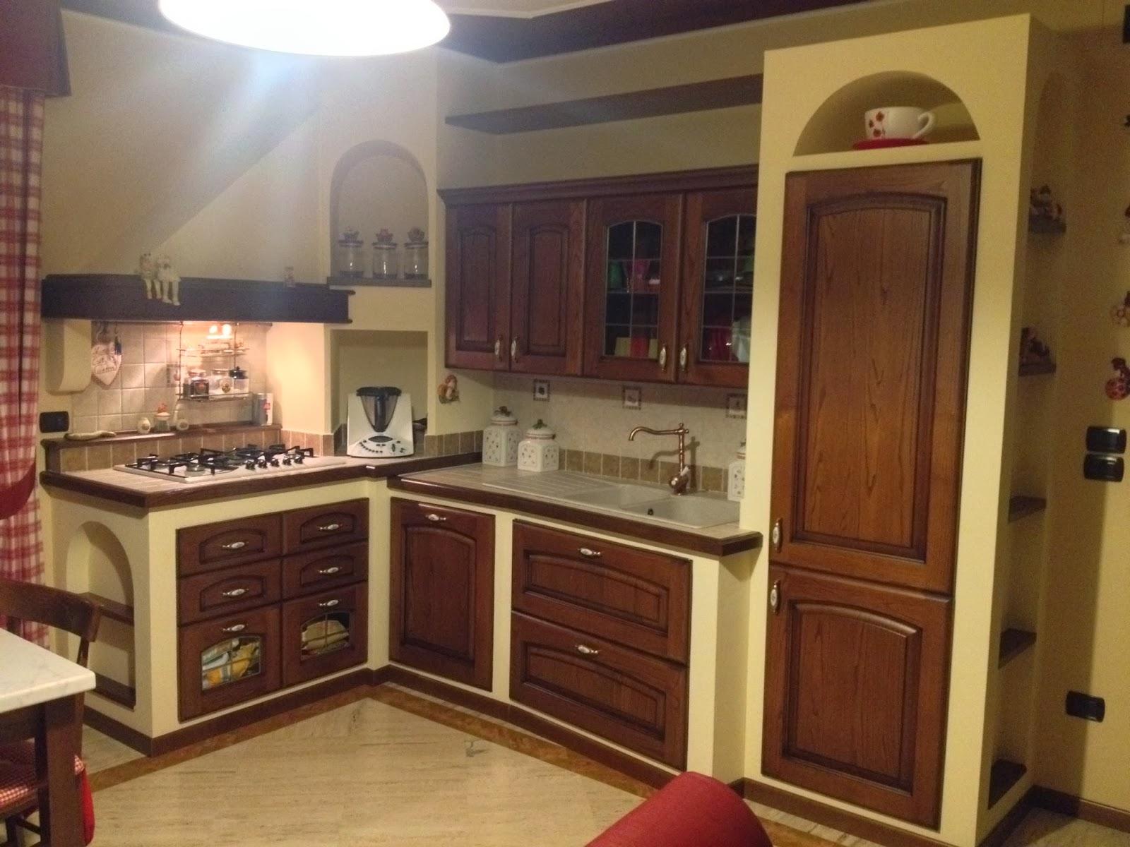Esempi di cucine in muratura elegant esempio di cucina rustica with esempi di cucine in - Modelli di cucina in muratura ...