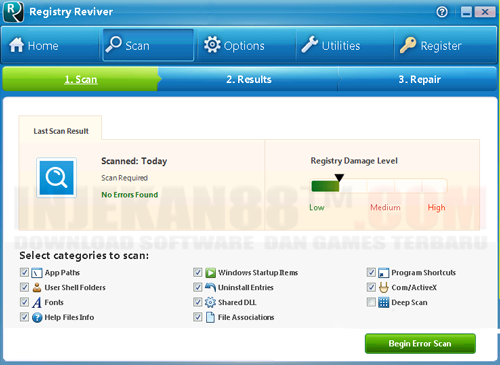 Download Registry Reviver 4.0.1.18 Final + Crack