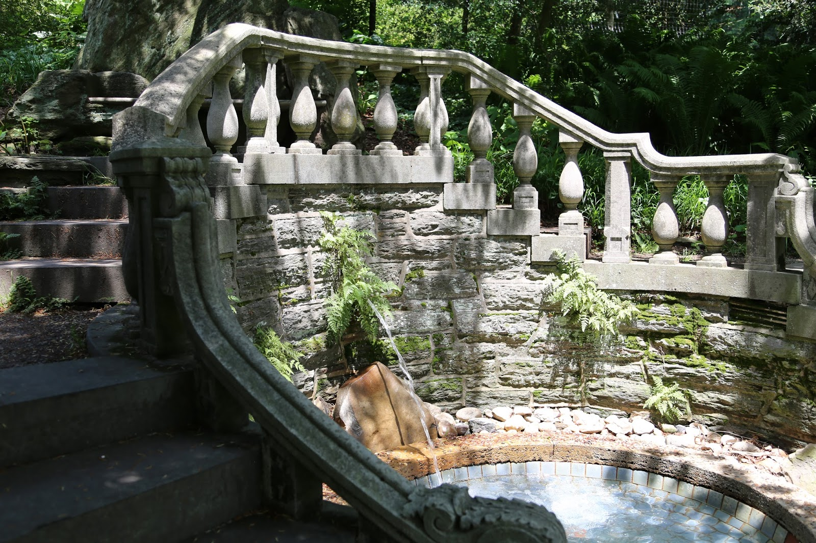 3. The Long Fountain The Creation Of The Long Fountain Was Inspired By A  Trip The Morrises Took To The Alhambra In Spain. After The Visit, John And  Lydia ...