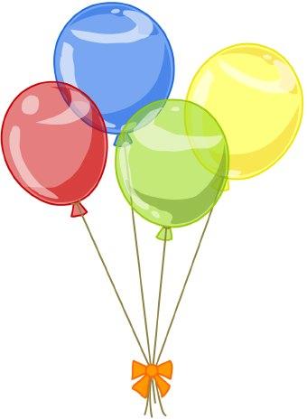 Balloon Clip Art5