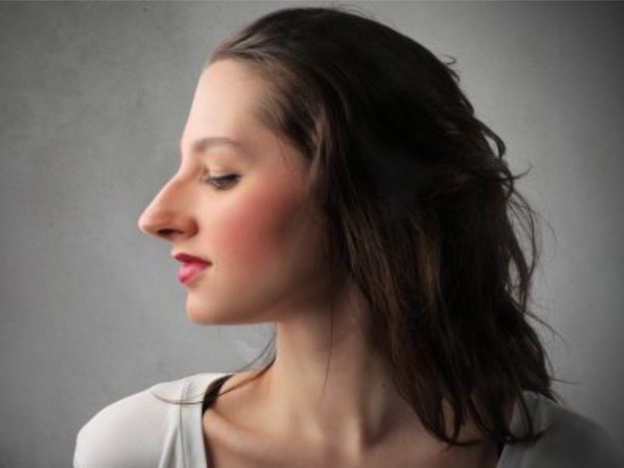 Прически для тех у кого прямой нос