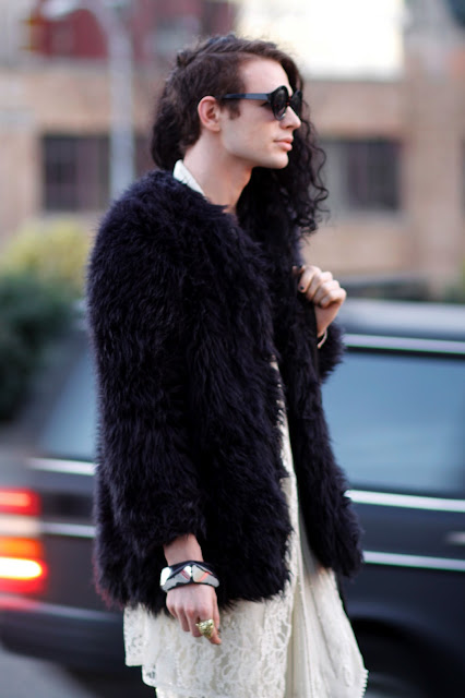 Steven Dolan Faux fur seattle street style fashion it's my darlin'