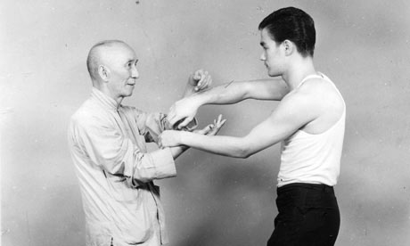 Bruce and Yip Man