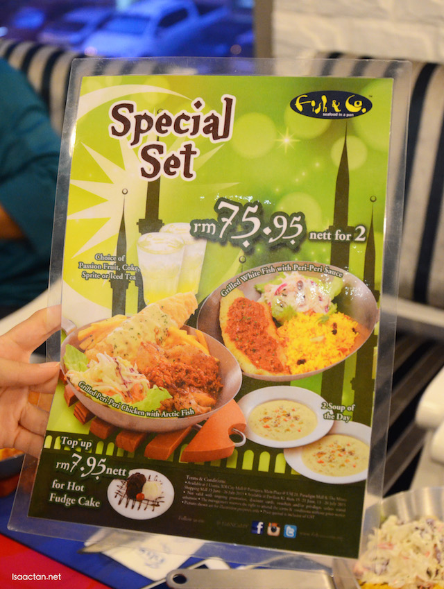 Ramadhan Special Set - RM75.95 for 2
