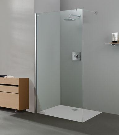 El blog del ba o mamparas de ducha de cristal fijo - Vidrios para duchas ...