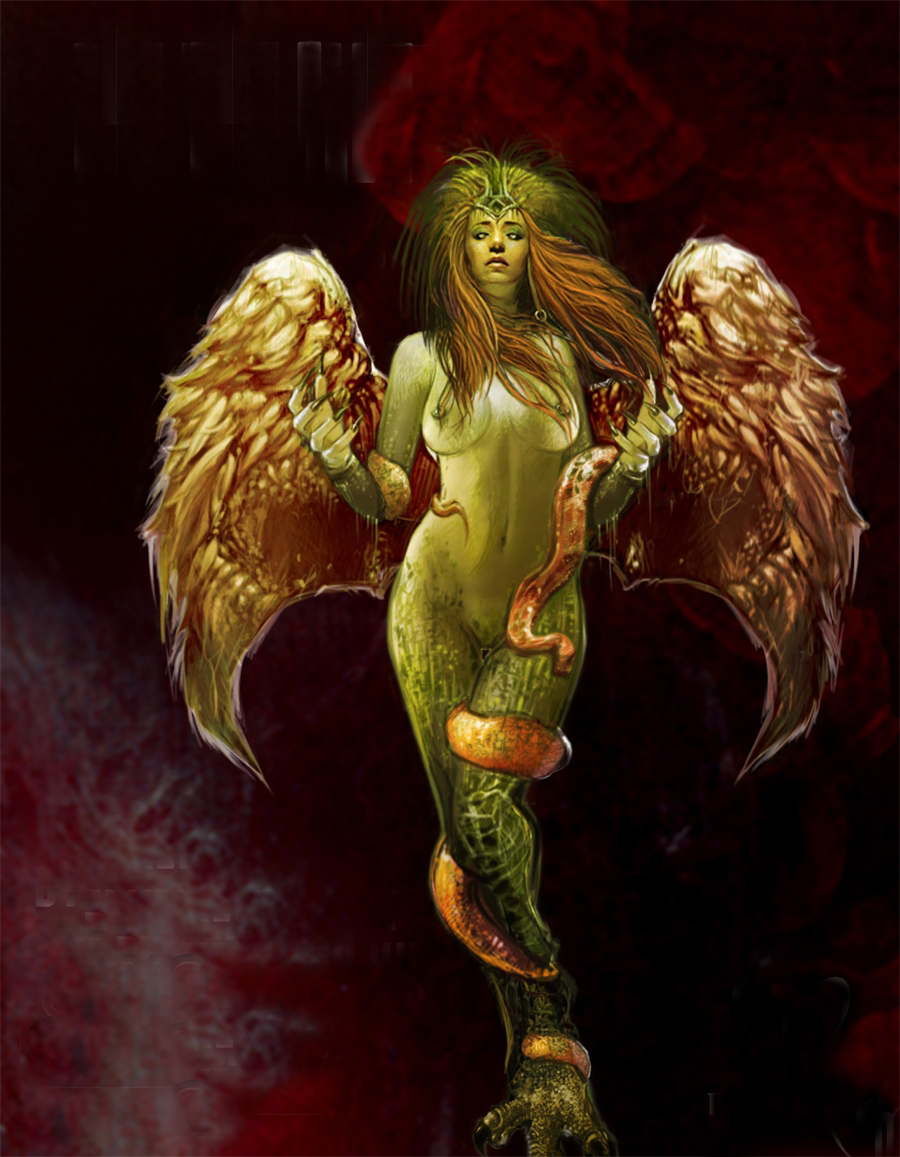 Isaiah 34 describes a demon named 'Lilith' as a deadly birdlike creature with wings and as the slayer of stray younglings.