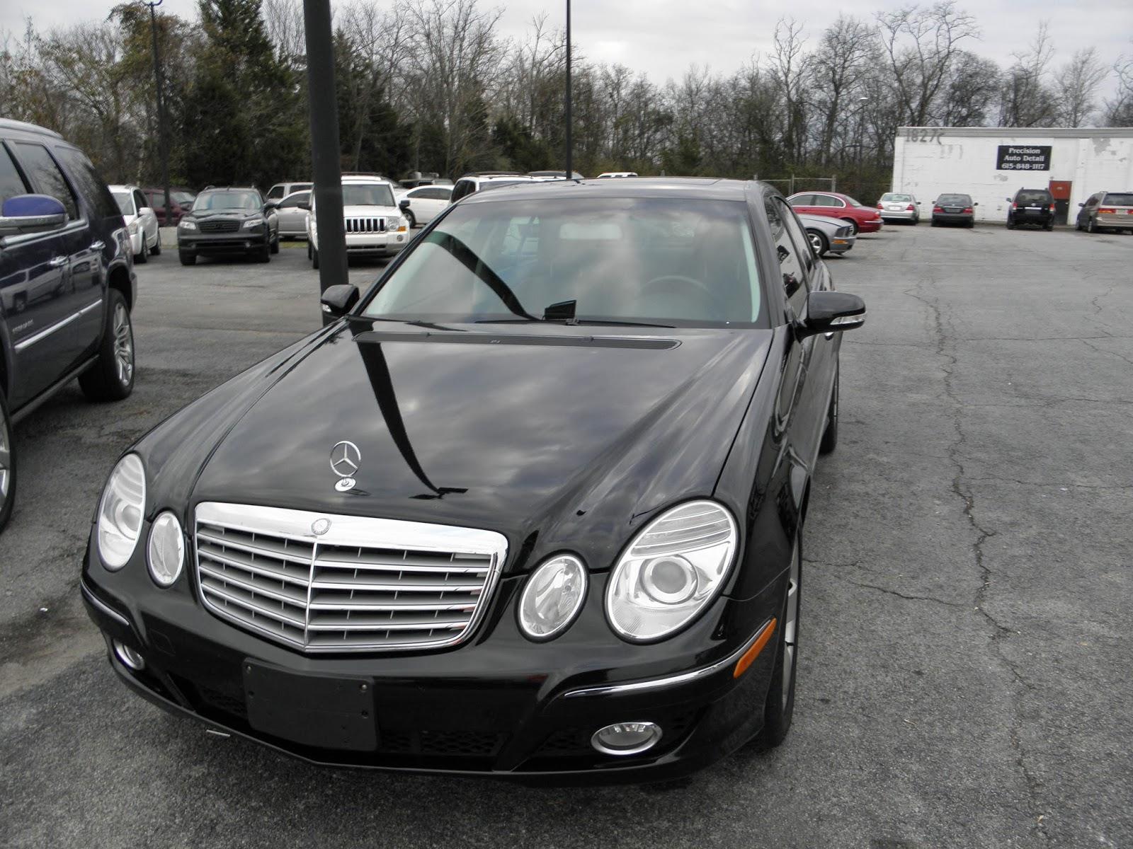 2007 mercedes benz e550 4 matic black rare luxury model loaded