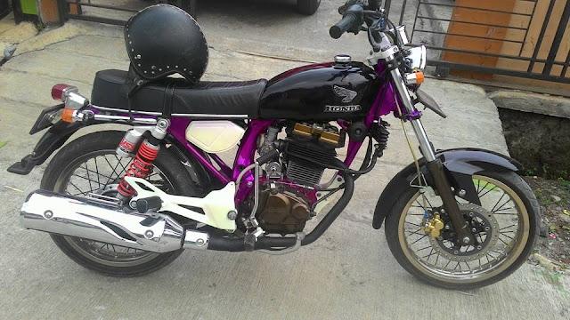 Foto Modifikasi Motor Honda CB Keren