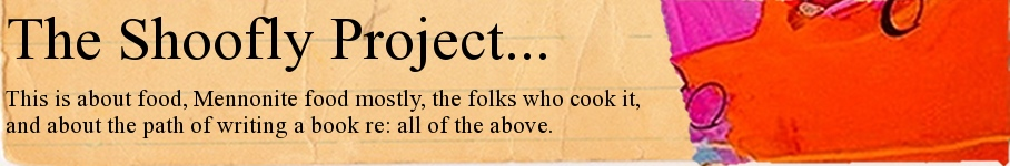 The Shoofly Project...