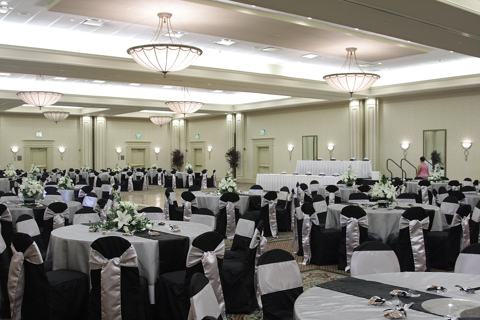 Here Is A Shot After I Set Up The Reception Hall At The Hilton Garden Inn  Suffolk, VA. Congrats Shaun And Charese Josie!...May Your Marriage Be As  Sleek As ...