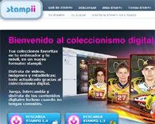 Stampii.com: colecciones de cromos 2.0
