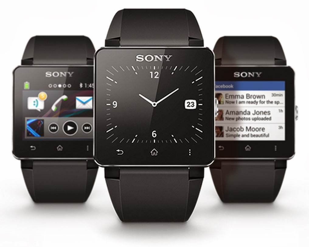 Sony smartwatches