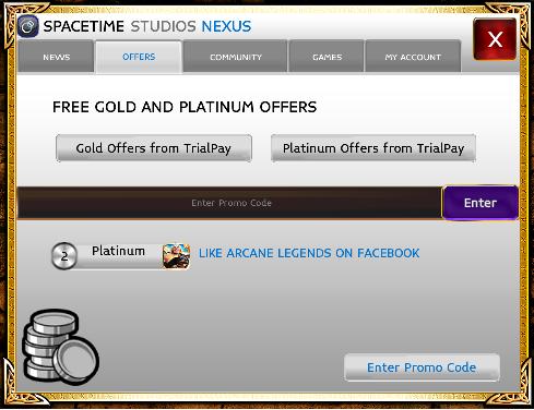 Promo codes in arcane legends youtube