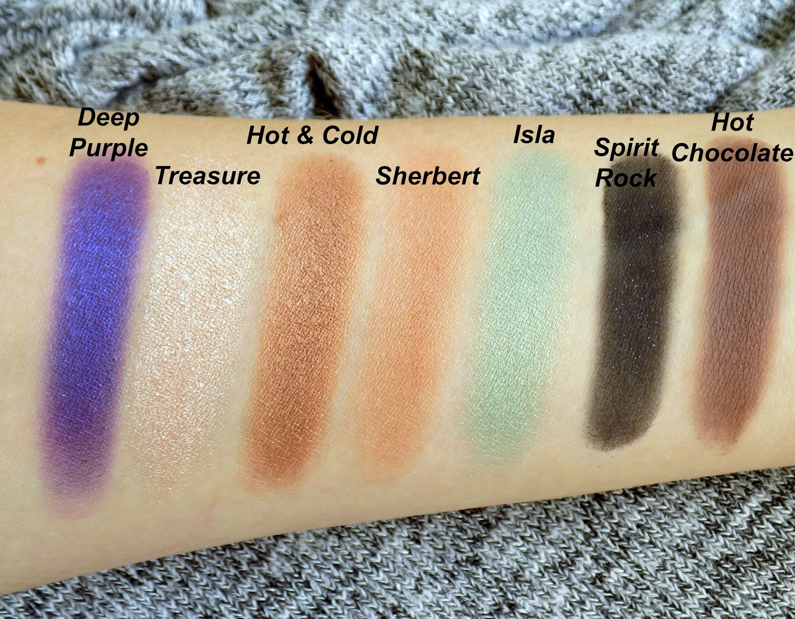 Anastasia Beverly Hills 'Self-Made' palette - swatches