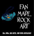 FAN MADE ROCK ART