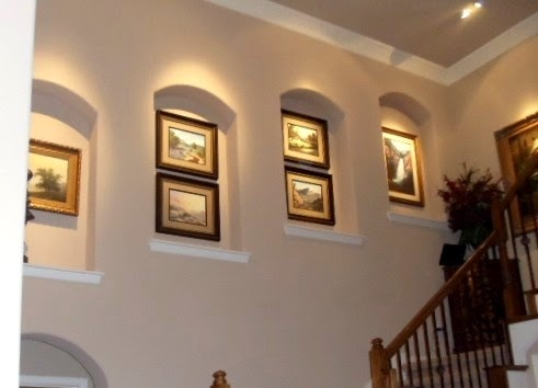 simply irresistible designs decorating wall niches