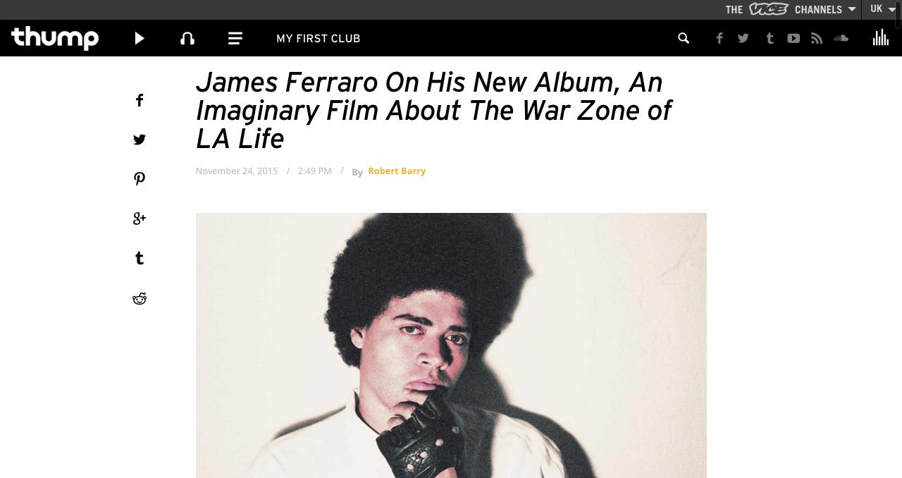James Ferraro - Feed Me