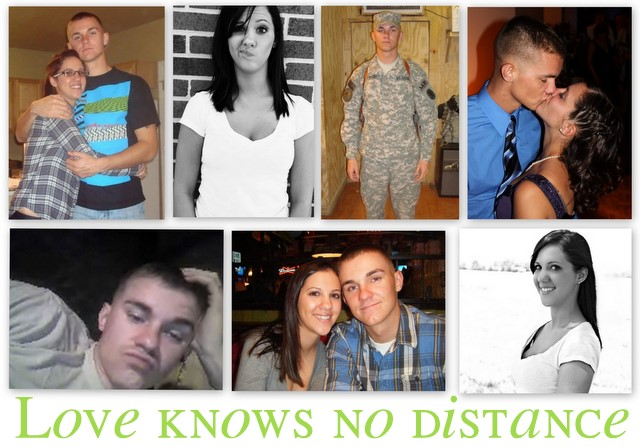 Love knows no distance.