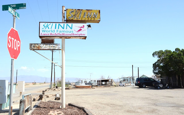 Bombay Beach, Salton Sea, Californie, USA