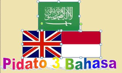 teks mc 3 bahasa bahasa arab bahasa inggris dan bahasa indonesia