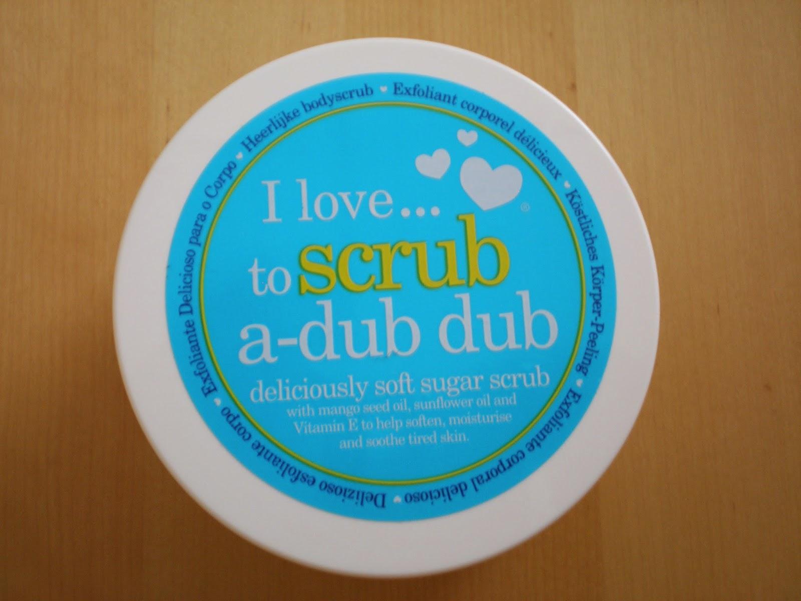I LOVE ...Spa Line Deliciously Soft Sugar Scrub