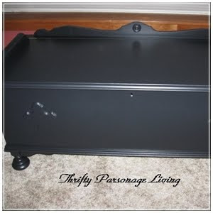 Cedar Chest Makeover