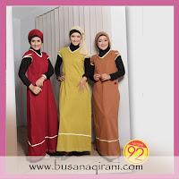 Gamis Qirani 92 - Busana Muslim Qirani Yang Trendy