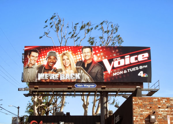 The Voice season 6 USA billboard
