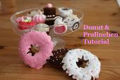 Anleitung für Donuts und Pralinen aus Filz