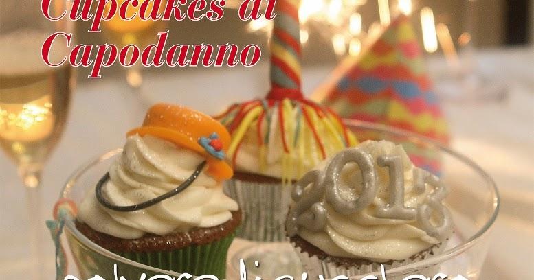 Cupcakes di capodanno e intervista per sugar cake for Decorazione torte e cupcake