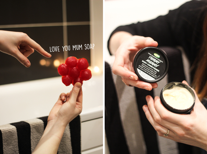 LUSH Mother's Day Collection | 2015 - Love You Mum Soap & Yummy Mummy Body Conditioner